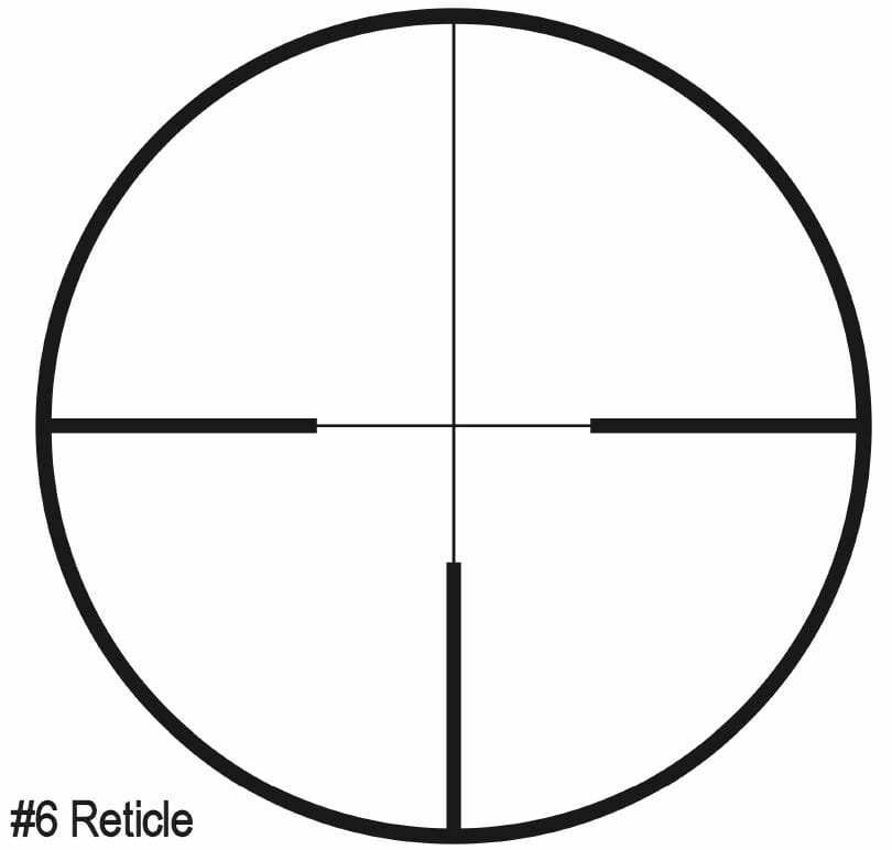 ZEISS Conquest V6 Riflescope #6 Reticle