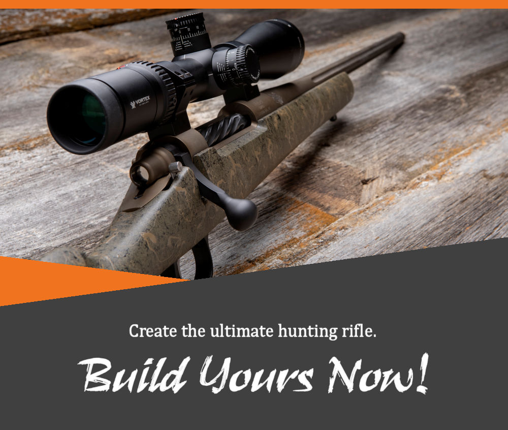 Custom Hunting Rifles From IN Rut Rifles | Build A Custom Rifle Online At www.InRutRifles.com